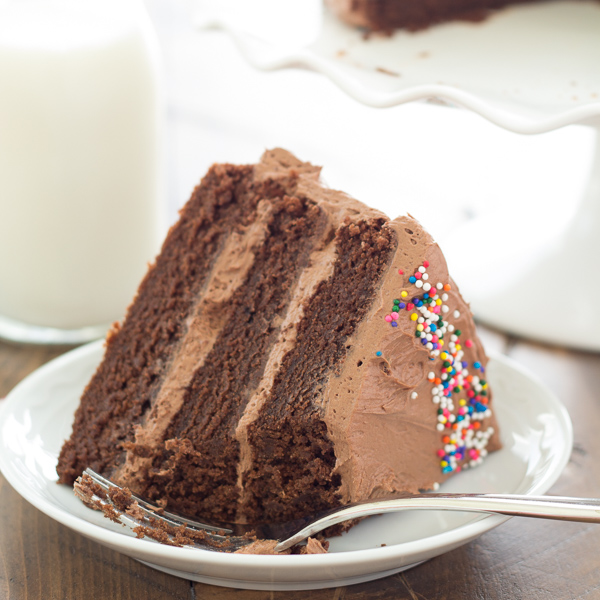 Chocolate Birthday Cake - Kristine's Kitchen
