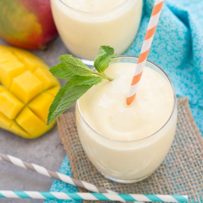 Creamy, Dreamy Mango Smoothie