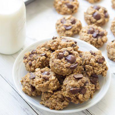 Peanut Butter Oat Snack Cookies