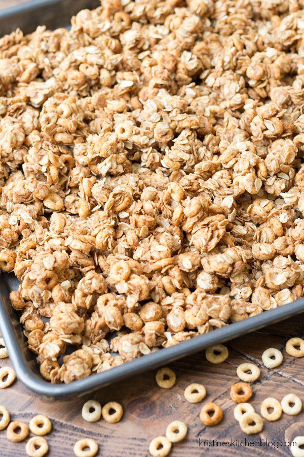 Peanut Butter and Honey Cheerios™ Granola + Buy a Box Give a Box ...