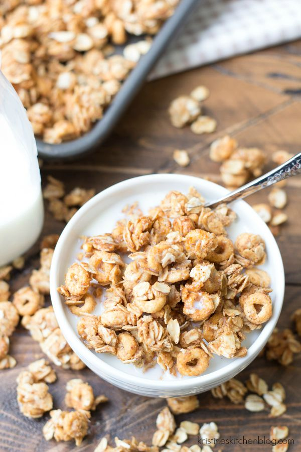 Peanut Butter and Honey Cheerios™ Granola + Buy a Box Give a Box ...