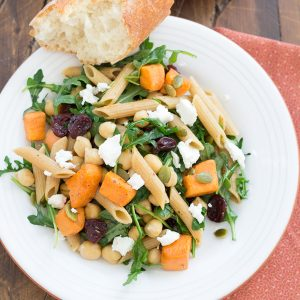 Roasted Sweet Potato and Arugula Pasta with Chickpeas. This 30 minute ...
