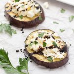 Grilled Eggplant with Ricotta and Balsamic Drizzle