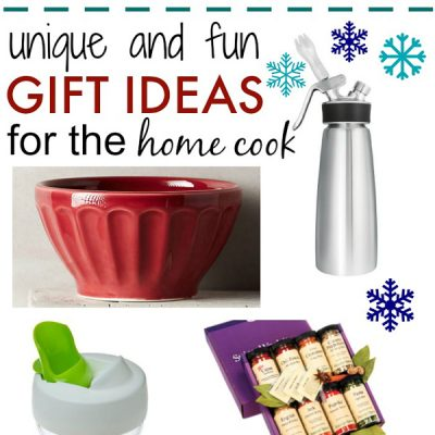 Unique and Fun Gift Ideas for the Home Cook {Giveaway!}