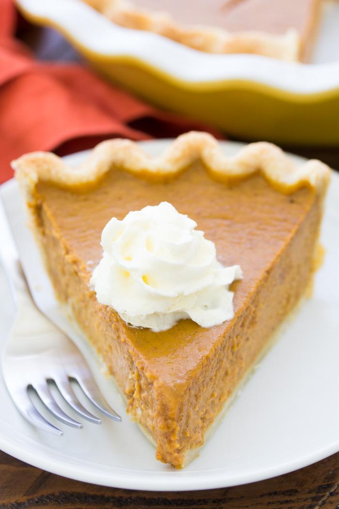 Classic Pumpkin Pie Recipe The Best Easy Recipe