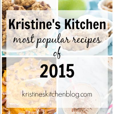 Most Popular Recipes of 2015