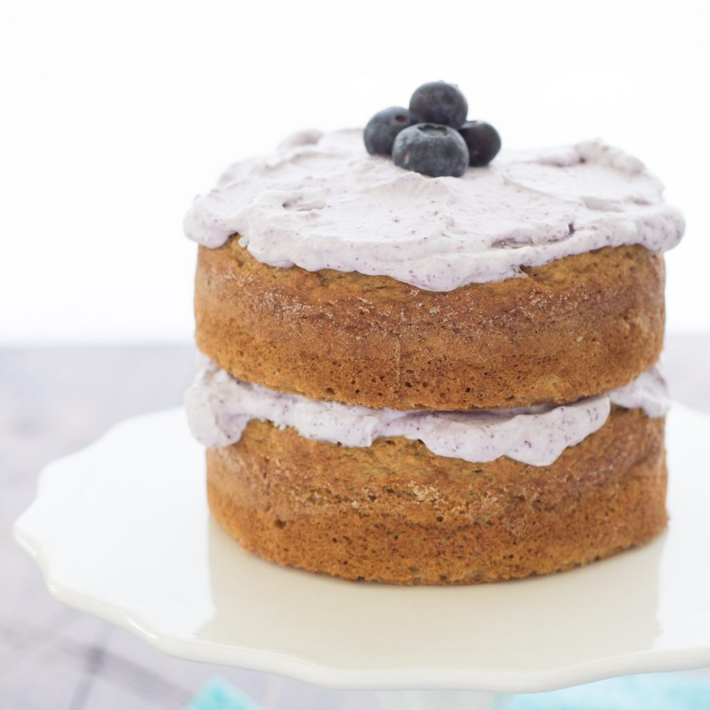 Healthier Smash Cake Recipe {Hannah's Purple Polka Dot 1st Birthday Party}