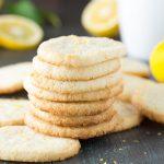 Lemon Almond Shortbread Cookies {Gluten Free}