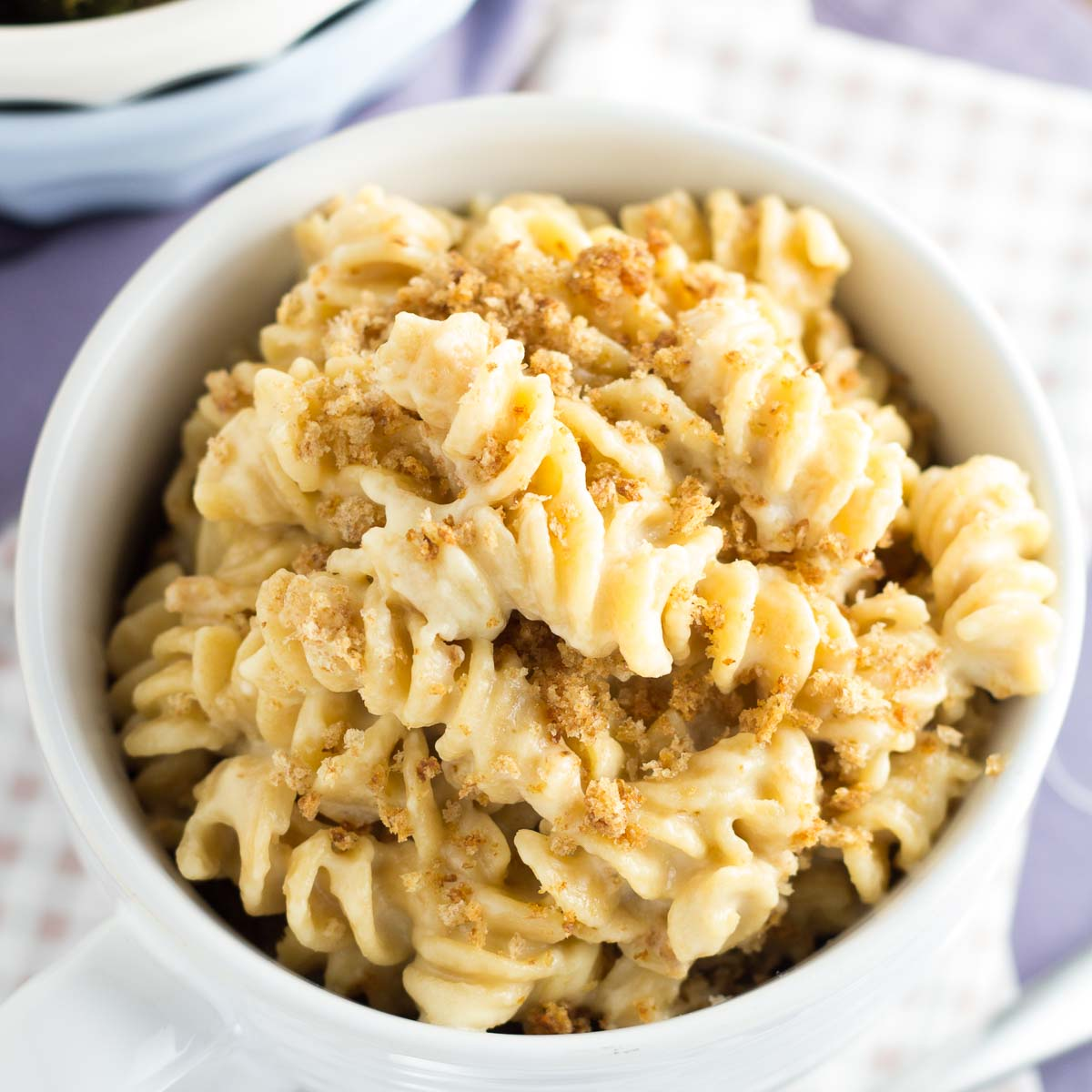 Whole grain macaroni and cheese