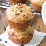 Healthy Spice Muffins with Chai {Whole Wheat, Refined Sugar Free}