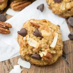 Loaded Whole Wheat Chocolate Chip Cookies