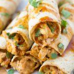 Honey BBQ Slow Cooker Chicken Taquitos