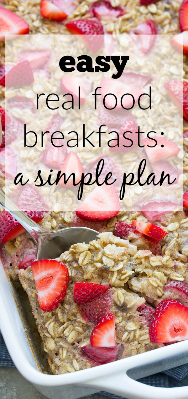 How we stopped our packaged cereal habit: An EASY and healthy real food breakfast plan!   www.kristineskitchenblog.com