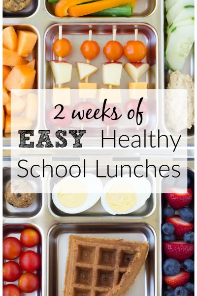 10 Healthy School Lunches for Kids