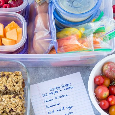 Weekly Snack Prep: Healthy and Easy Ideas
