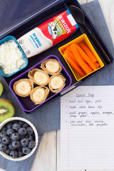 No Fuss School Lunch Ideas (Make Ahead)