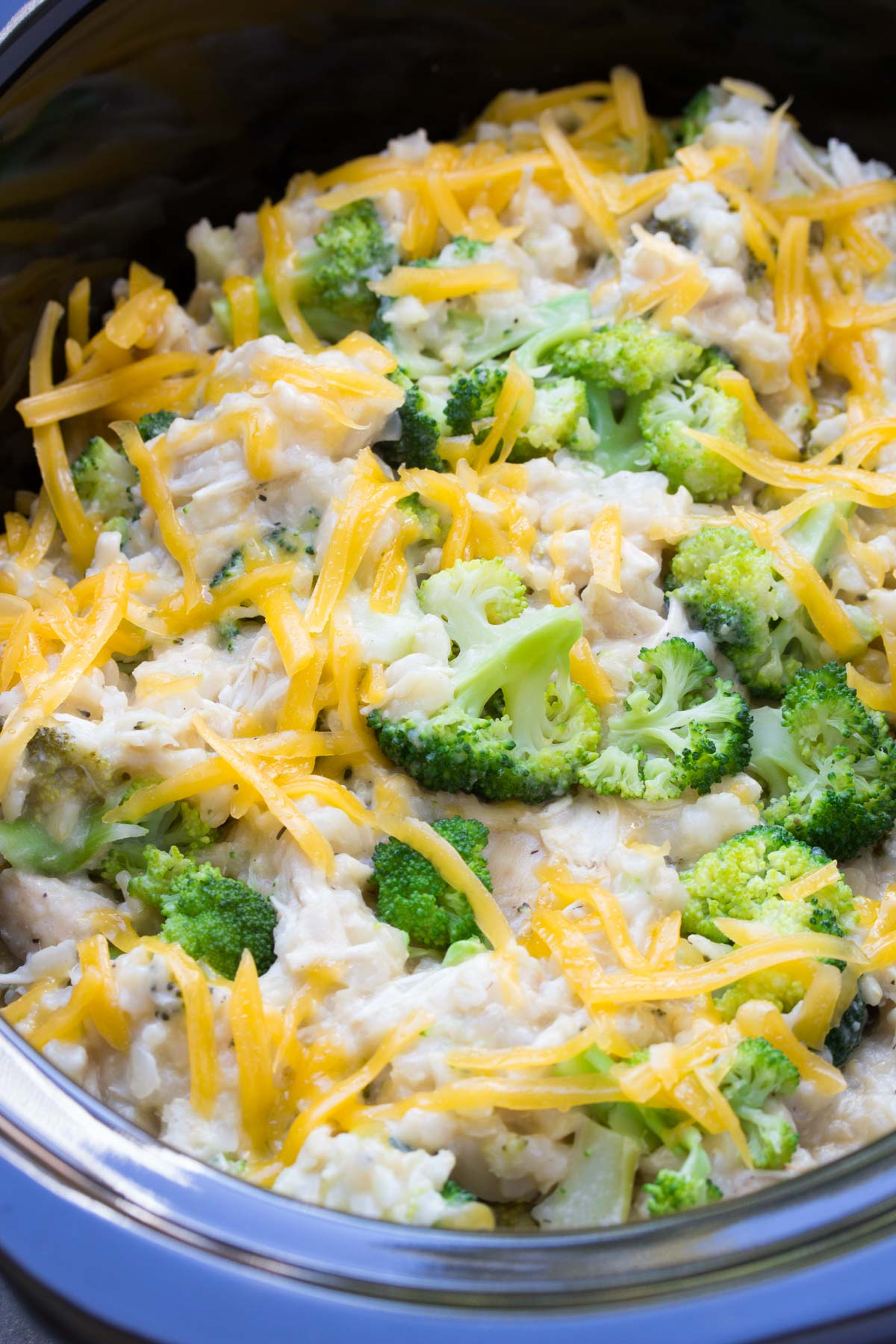 Slow Cooker Chicken, Broccoli and Rice Casserole ...