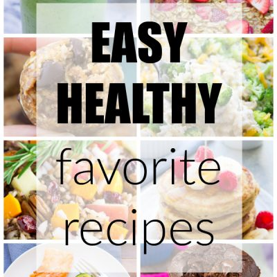 My Favorite Recipes of 2016! (Easy + Healthy)