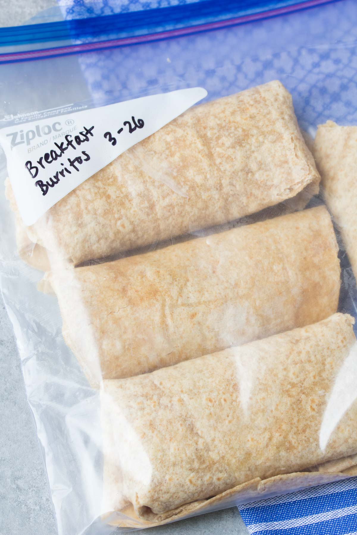 Freezer vegetable breakfast burritos recipe video kristines kitchen healthy freezer vegetable breakfast burritos that you can make ahead and freeze for busy mornings forumfinder Choice Image