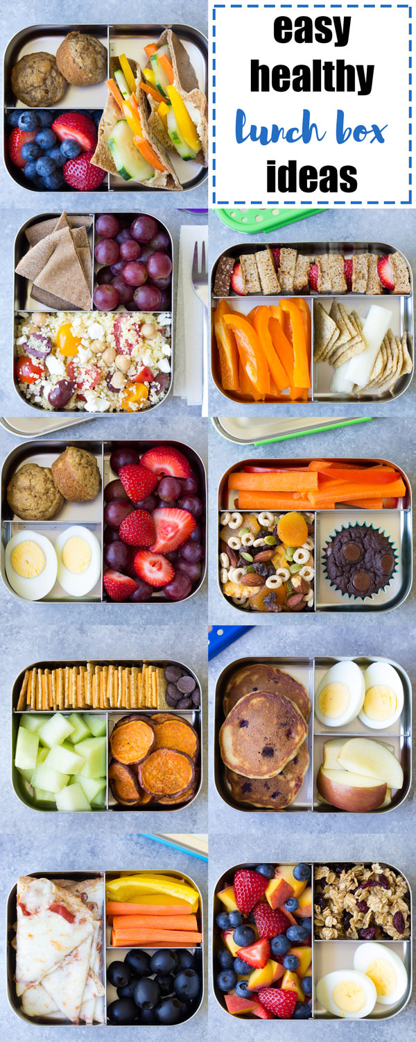 EASY Healthy Lunch Ideas For Kids Bento Box Lunchbox To Pack School
