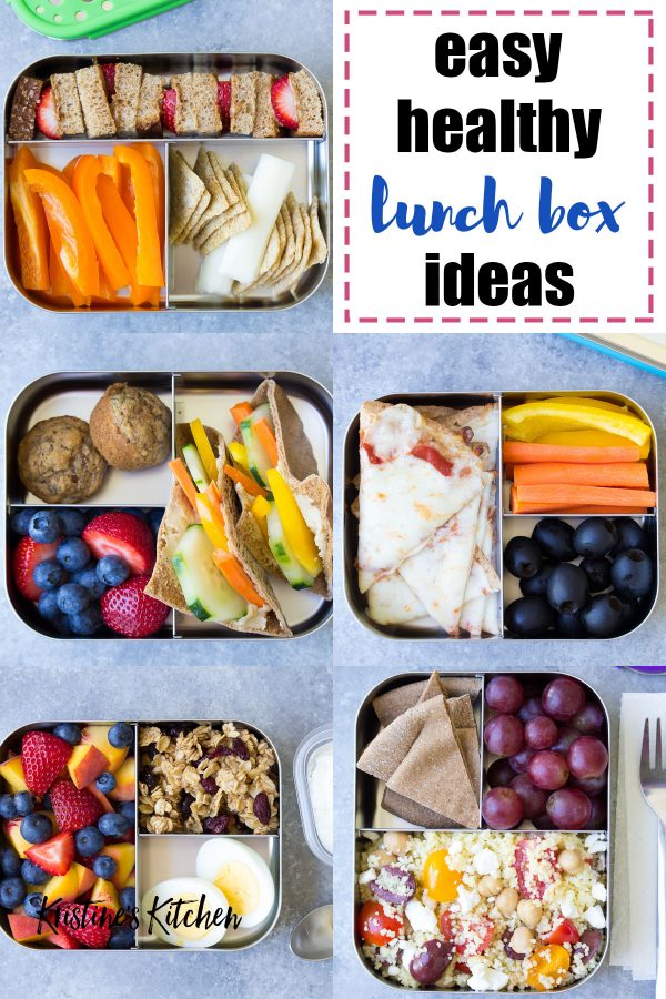Healthy school lunch ideas for kids! Quick and easy lunchbox ideas for picky eaters. Perfect for a bento box!