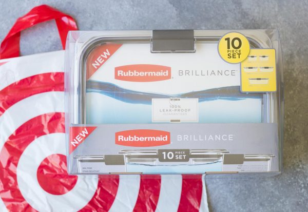 Rubbermaid Brilliance Storage Containers