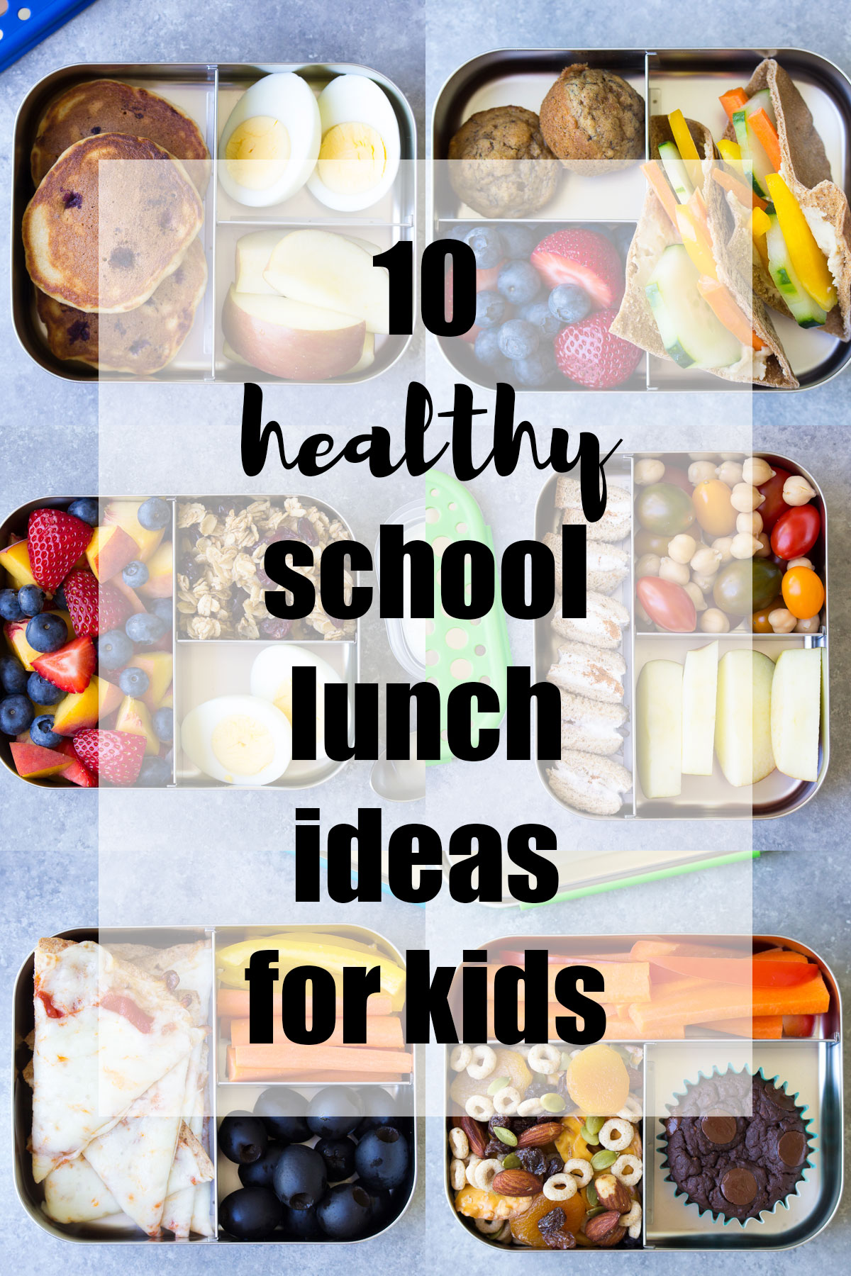 10 More Healthy Lunch Ideas for Kids (for the School Lunch ...