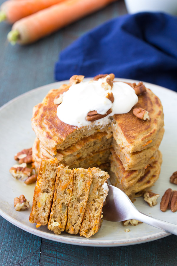 Carrot Cake Using Maple Syrup