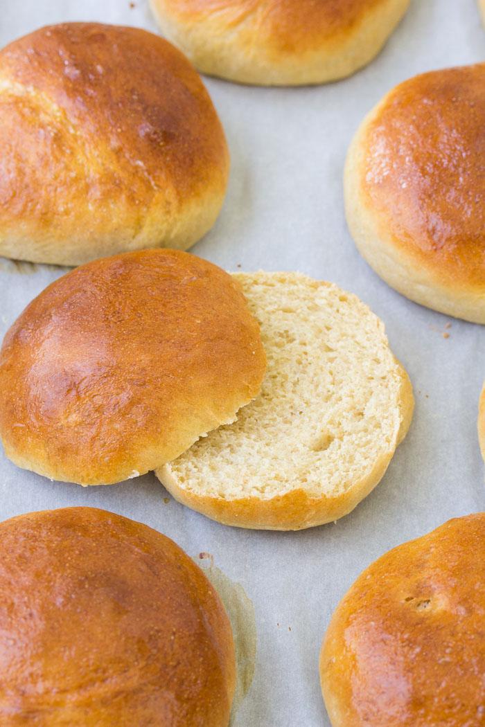 Quick Brioche Bun Recipe - Kristine's Kitchen