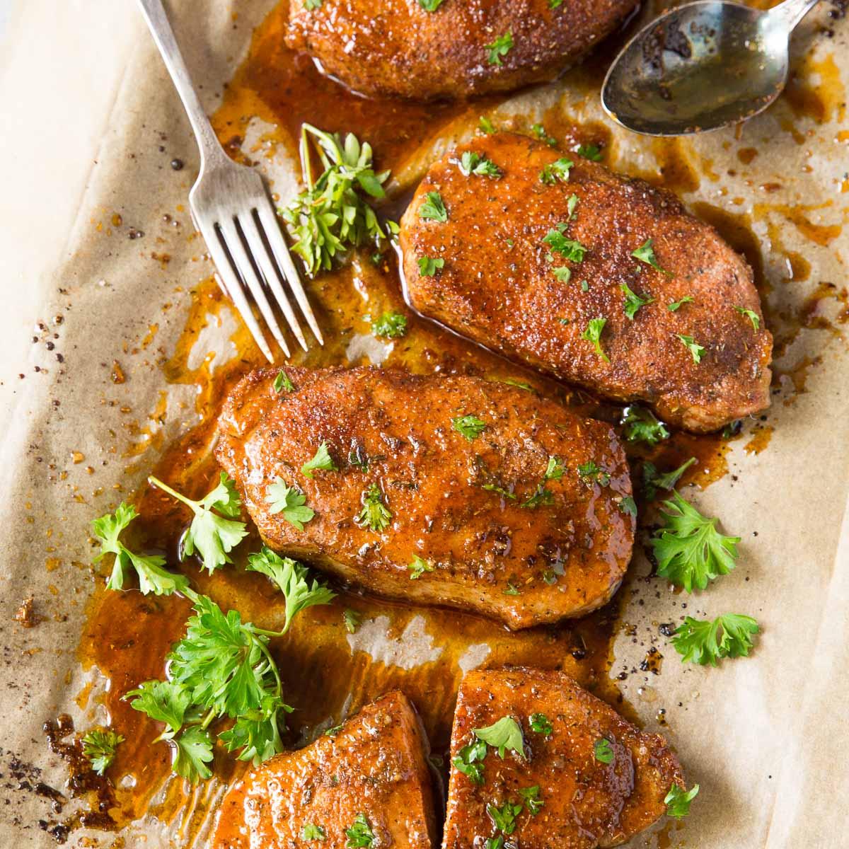 Best Baked Pork Chops Easy Recipe Kristine S Kitchen