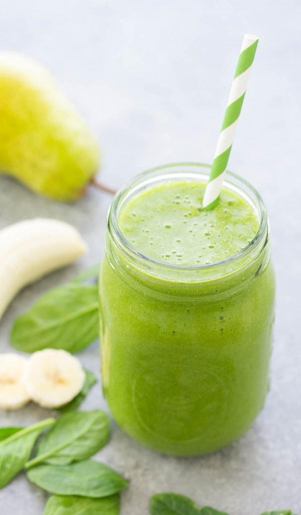 You won't taste the spinach in this immunity boosting Green Monster Smoothie... not even one little bit! This healthy green smoothie is packed full of healthy ingredients, including a good dose of Vitamin C!