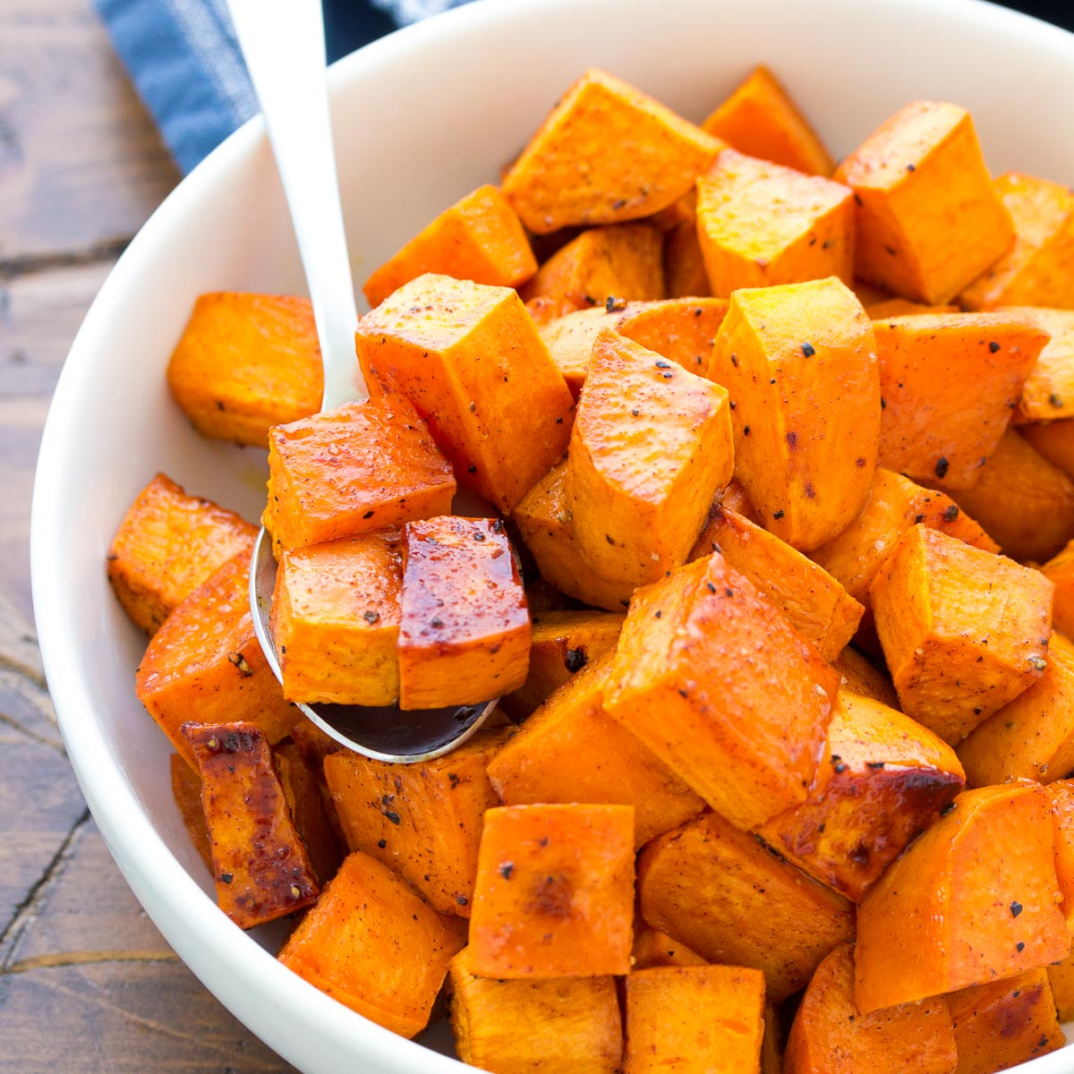 Honey Roasted Sweet Potatoes Easy Recipe