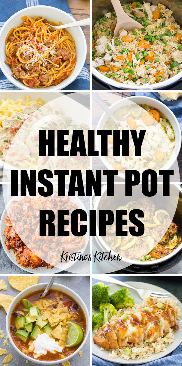 29 Healthy Instant Pot Recipes Quick Easy