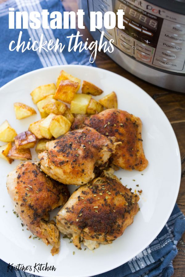 Easy Instant Pot Chicken Thighs