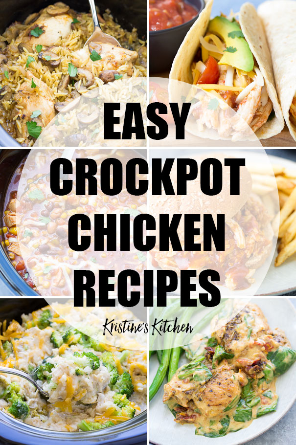 Crockpot Chicken Recipes Easy And Healthy Meals