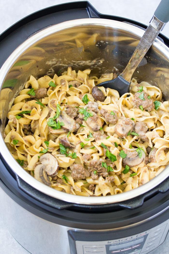 Instant Pot Recipe For Beef Stroganoff
